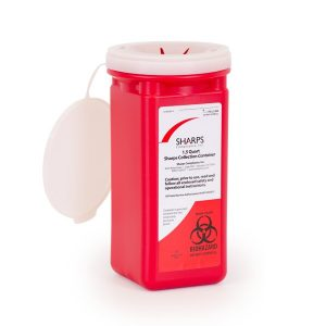1.5-QUART SHARPS RECOVERY SYSTEM (Case of 12) - SHARPS-10150-012