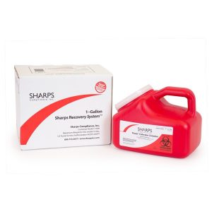 1-GALLON SHARPS RECOVERY SYSTEM - SHARPS-11000
