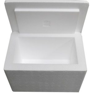"12 X 8 X 8""  Insulated Styrofoam Shipping Cooler and Box Kit (1 Cooler)"