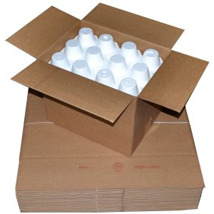"""12-Bottle """"Solid"""" Wine/Champagne Shipping Boxes 750ml (24 Boxes)"""