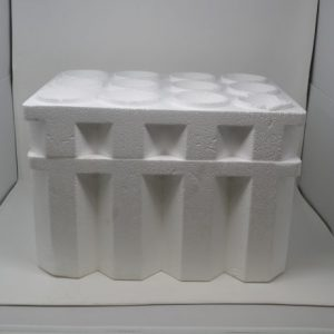 "12-Bottle ""Solid"" Foam Wine/Champagne Cooler 750ml (12 Coolers)"