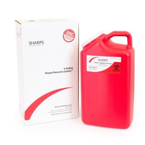 3-GALLON SHARPS RECOVERY SYSTEM - SHARPS-13000