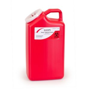 3-GALLON SHARPS COLLECTION CONTAINER (Case of 16) - SHARPS-63000-016
