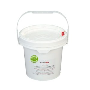 2-GALLON SEALED LEAD ACID BATTERY RECYCLING PAIL - SHARPS-949150