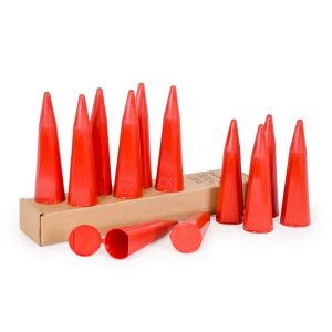 SCOOP CONES FOR SHARPS DISPOSAL (12 Cones Per Sleeve) - SHARPS-50002-012