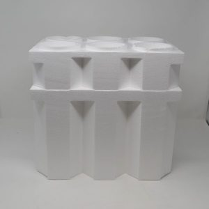 "6 Bottle ""Solid"" Wine/Champagne Foam Cooler 750ml (24 Coolers)"
