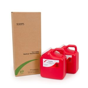 TWO 2-GALLON TAKEAWAY RECOVERY SYSTEM (Case of 6) - SHARPS-82002-006