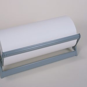 "24""   All In One Paper Roll Dispenser (2 Dispensers) - Serrated Blade - Bulman-A501-24"