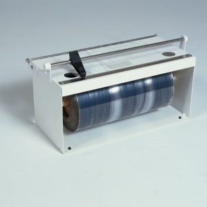 "12"" Counter Top Plastic Film Food Wrap Dispenser - Bulman-A550-12"