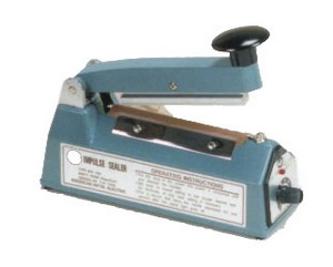"""4"""" Impulse Poly Bag Hand Sealer 5 mil thickness 2mm width 200W - AIE-100T"""