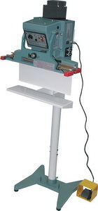 """24"""" Vertical Double Automatic Impulse Foot Sealer 20 mil Thickness 10mm Width and 2900W - AIE610FDV"""