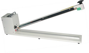 """32"""" Extra Long Handle Poly Bag Sealer 6mm Thickness 1000W - AIE-800T"""