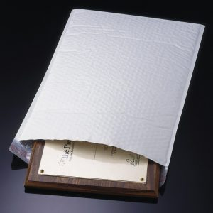 """5"""" x 9-1/4"""" #00 White Poly Bubble Mailers (250 Mailers)"""