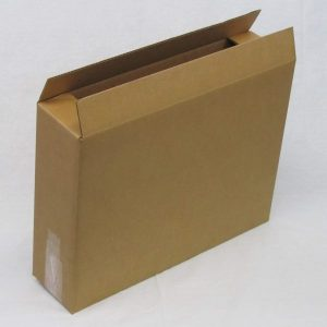 PICTURE BOX 24 x 6 x 18 275# SW Kraft Box RSC (10 Boxes)