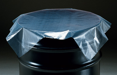 """30"""" x 30"""" Flat Poly Drum Cover (4 mil)"""