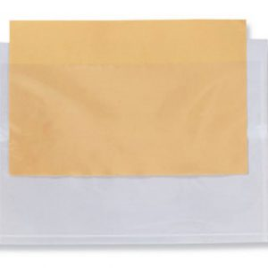 "1-5/8"" x 4"" Front-Loading Packing List Envelope with Recessed Face"