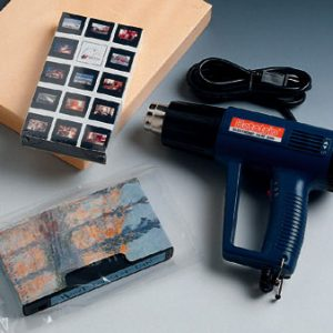 Heat Gun with Variable Temperature Range