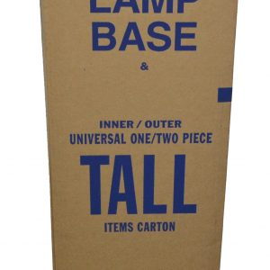 Lampbase 12 x 12 x 40 Moving Boxes (1 Box)
