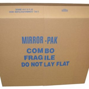 2 Piece Mirror 37 x 4 x 61 Max Moving Boxes (5 Boxes)