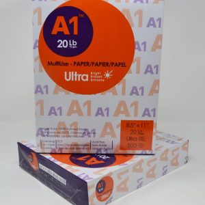 "8-1/2"" x 11"" Standard Copy Paper 94 Bright White A1 Ultra (10 Reams)"