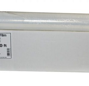"20"" x 1,000 ft. Premium 80 Gauge Pallet Stretch Wrap Film with Extended Core Handle (4 Rolls)"
