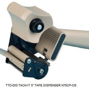 """3"""" Plastic Hand Held Tape Dispenser Gun - TTD-003"""