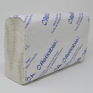 1-Ply 100% Bio White Towels Bulk (16 Rolls/Case)