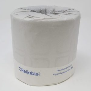 2-Ply Bathroom Tissue Bulk (96 Rolls/Case)