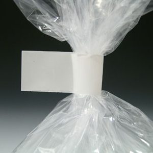 "3/8"" x 180 yds. Bag Closing Tape - White (2.4 mil)"