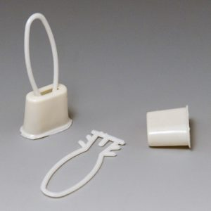 Clips for Netting - White
