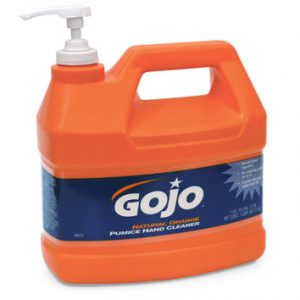 Gojo Natural Orange Pumice Hand Cleaner with Pump (1 Gallon) (1 Bottle) - AB-600-0955-02