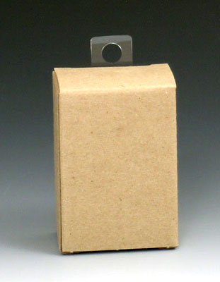"""7/8"""" x 1-1/4"""" Hang Tabs with Round Hole (Approximately 36 Tabs per Sheet; 14 Sheets per Bag)"""