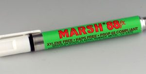 Marsh® 88 Pigment Metal Surface Marker - White