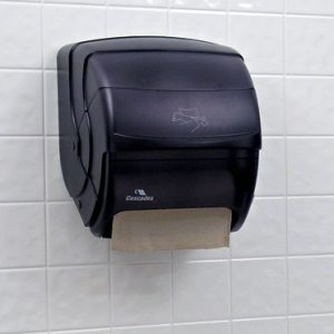 Towel Dispenser for Paper Towels on a Roll