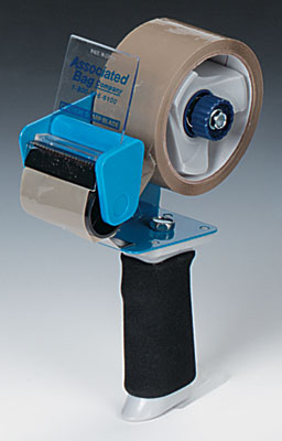 "2"" Our Own Brand Carton Sealing Tape Dispenser with Fixed Blade & Cushioned Handle"