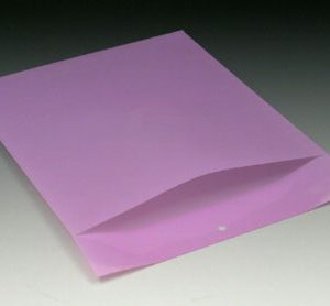 """9-1/4"""" x 12"""" Polyethylene Routing Envelope with Slit Opening and Hang Hole - Lavender (6 mil)"""