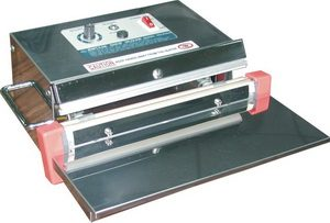 """12"""" Table Press Poly Bag Sealer 8 mil Thickness 2 or 5 mm Width - AIE-300SI"""