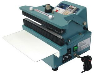 "16"" Automatic Constant Poly Bag Heat Sealer 5/8 inches Width 520W - AIE-400CA"