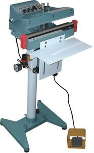 """32"""" Pneumatic-Impulse Auto Poly Bag Foot Sealer 5mm Width and 1800 W - AIE-805FA"""