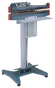 """12"""" Double Impulse Foot Poly Bag Sealer 20 mil Thickness 5 mm Width 1500 W - AIE-300FD"""
