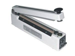 "12"" Magnetic Hold Poly Bag Sealer 6 mil Thickness 2mm Width 500 W - AIE-300HIM"