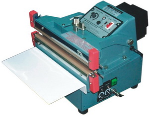 """24"""" Double /Single Automatic Heat Sealer 20 mil Thickness 10mm Width and 2900W - AIE610FDA"""