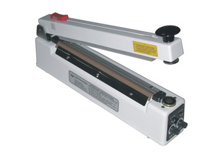 """12"""" Magnetic Hold Bag Sealer w/ Cutter 6mil Thickness 2mm Width 400 W - AIE-300MC"""