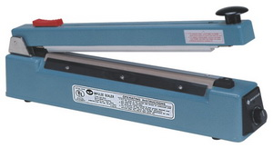 """16"""" Impulse Poly Bag Sealer w/ Cutter 6 mil Thickness 2mm width 750W - AIE-400C"""