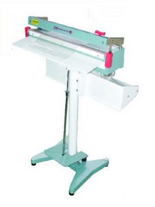 "24"" Foot Poly Bag Sealer with Cutter 8 mil Thickness 5 mm Width 1500 W - AIE-605FC"