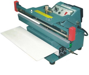 "12"" Automatic/Manual Upper Jaw Sealer 8 mil Thickness 10mm Width and 900W - AIE310FUA"