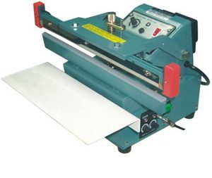 "12"" Automatic/Manual Upper Jaw Sealer 6 mil Thickness 2mm Width and 550W - AIE300FUA"