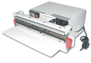 """24"""" Vacuum Sealer 10 mil Thickness 10mm Width and 1900W Vac/Gas Flush - AIE-610GA"""
