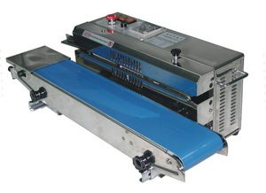 Stainless Steel Horizontal Band Poly Bag Sealer (Right to Left) - AIE-881BSL