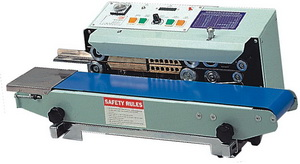 Band Poly Bag Sealer with Alpha Numberic Imprinter - AIE-B6201